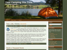 Thumbnail Camping Website Theme