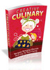 Thumbnail Creative Culinary eBooks Master Resale Rights