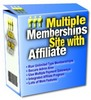 Thumbnail New Multiple Membership Site With Affiliates With Master Resale Rights