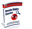 Thumbnail **NEW** Resale Rights Secrets With master Resale Rights