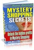 Thumbnail **NEW** Mystery Shopping Secrets - Get Paid to Shop! With Master  Resale Rights