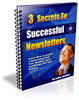 Thumbnail **NEW** 3 Secrets To Successful Newsletters  With  Master Resale Rights