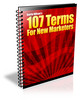 Thumbnail **NEW** 107 Terms for New Marketers With Master  Resale Rights