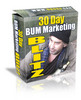 *NEW* 30 Day Bum Marketing Blitz ! Master Resale Rights included.