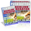 Thumbnail *NEW* The Push Button Backlink Generator  ! Master Resale Rights Included.