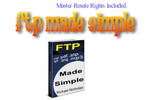 Thumbnail *NEW* FTP Made Simple ! Master Resale Rights included.