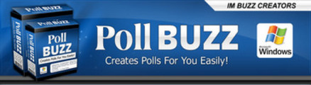 Thumbnail Poll Buzz Software  With Master Resale Rights
