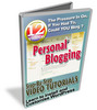 Thumbnail Personal Blogging  With Master Resale Rights