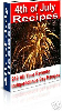 Thumbnail *NEW* 4th of July Recipes -With Master Resale Rights