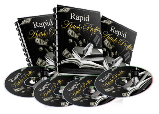 Product picture Hot! Rapid Aritcle Profits Videos + Free Bonuses