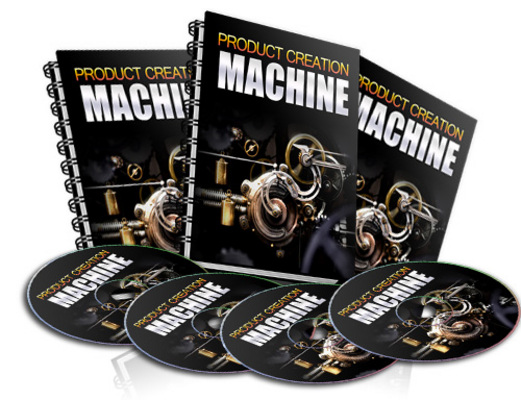 Product picture NEW! Product Creation Machine With Resell Rights