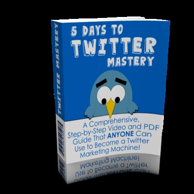 Product picture Hot! 5 Days To Twitter Mastery Videos Training + MRR*