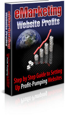 Product picture **NEW** E-Marketing Website Profits ! Step By Step Guide To Setting Up Profit Pumping Websites!