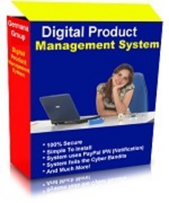 Product picture New Digital Product Management System with Master Resell Rights