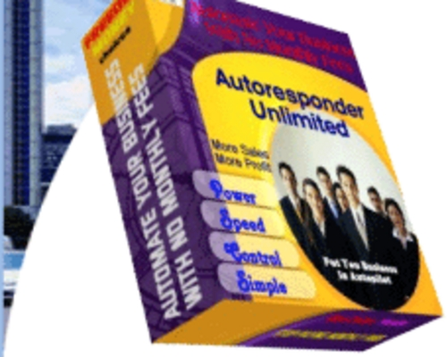Product picture **NEW** Autoresponder Unlimited   With Master Resale Rights