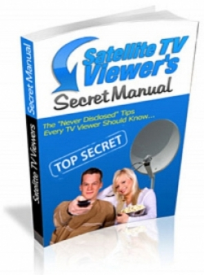 Product picture **NEW** Satelite TV Viewers Secret Manual  With Master Resale