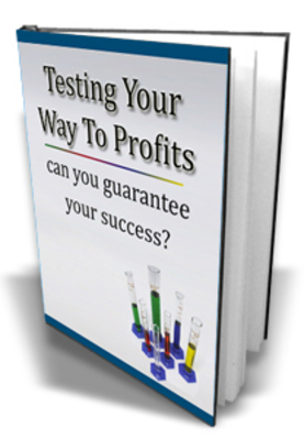Product picture **NEW** Testing Your Ways To Profits With  Master resale Rights