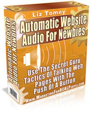 Product picture **Brand New** Automatic Website Audio for Newbies  With Master Resale Rights