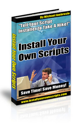 Product picture **NEW** Install Your Own Scripts With Master  Resale Rights