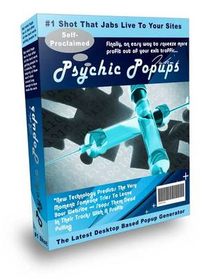 Product picture  The Brand New Psychic Popup Injector With Master Resale Rights
