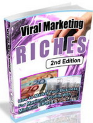 Product picture **NEW** Viral Marketing Riches With Master Resale Rights