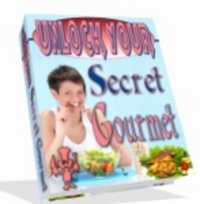 Product picture *NEW* Unlock Your Secret Gourmet Cookingbook With Master Resale Rights