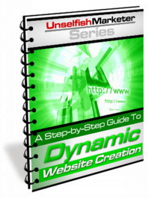 Product picture *NEW* Dynamic Website Creation - How To Create Dynamic Websites ! Master Resale Rights Included.