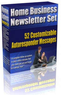 Product picture *NEW* Home Business Newsletter Set  Plus More Bonuses ! Master Resale Rights Included.
