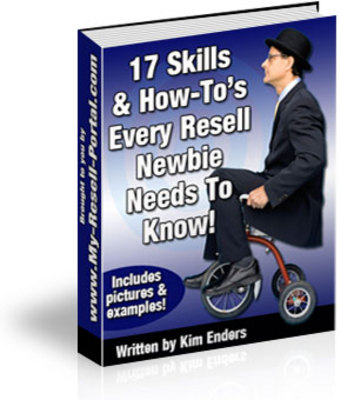 Product picture *NEW* 17 Skills Every Resell Newbie Needs To Know  ! Master Resale Rights Included.