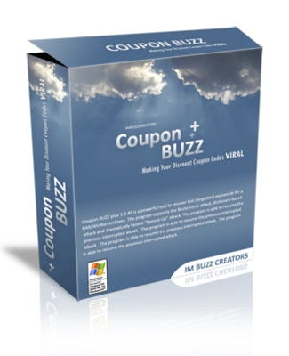 Product picture *NEW* Coupon Buzz With Master Resale Rights