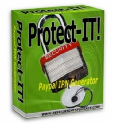 Product picture Protect-IT! PayPal IPN Generator  With Master Resale Rights