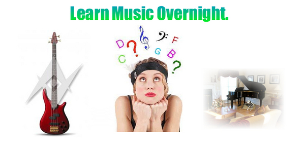 Product picture *NEW* Learn Music Overnight Products Unrestricted Private Label Rights