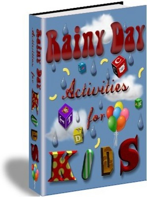 Product picture *NEW* Rainy Day Activities For Kids  ! Private Labels Rights Included.