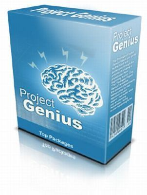 Product picture *NEW* Project Management Software: Project Genius  ! Resale Rights included.