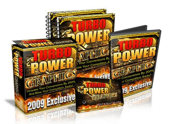 Product picture *NEW* Turbo Power graphics package 2009 With Resale Rights
