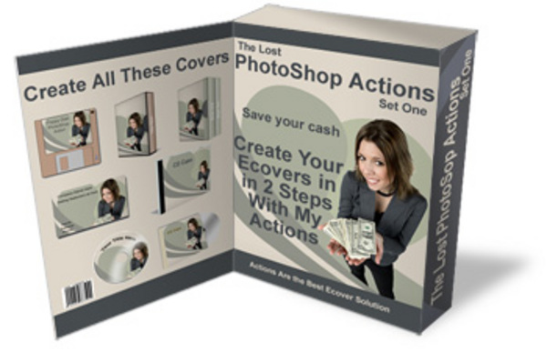 Product picture NEW* The Lost PhotoShop Actions - Create Images With 2 Easy Steps   With Resale Rights