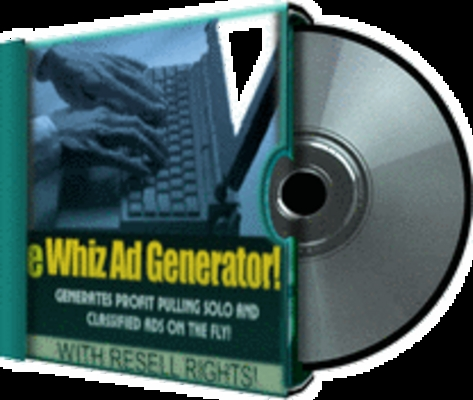 Product picture *NEW* eWhiz Ad Creator V. 1  With Resale Rights