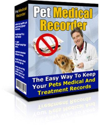 Product picture Pet Medical Recorder With Resale Rights