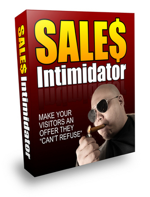 Product picture *NEW* Sales Intimidator ! Private labels Rights Included.