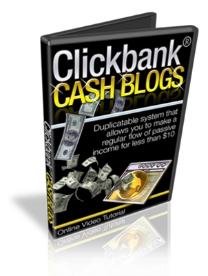 Product picture ClickBank Cash Blogs With Master Resale Rights