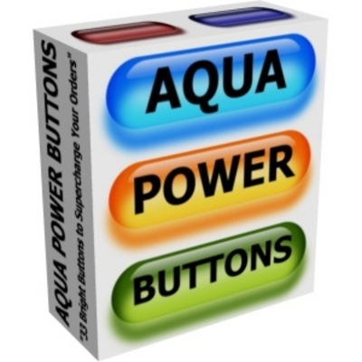 Product picture Aqua Power Buttons With PLR