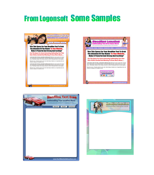 Product picture *NEW* 30 MiniSiteTemplates With Private Labels Rights