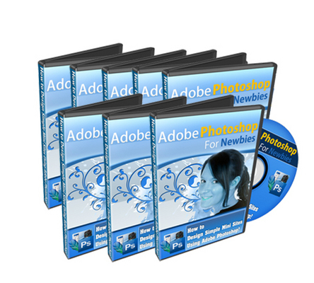 Product picture *NEW* Adobe Photoshop For Newbies Video With MRR